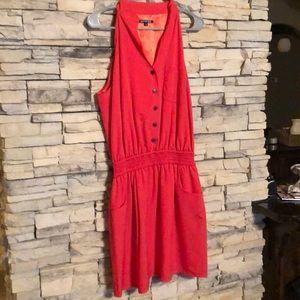 Gianni Bini Red/Orange Dress
